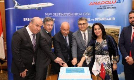 ANADOLUJET EXPANDED ITS INTERNATIONAL FLIGHT NETWORK WITH ERBIL.