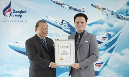 Bangkok Airways Awarded Superbrands Thailand 2018