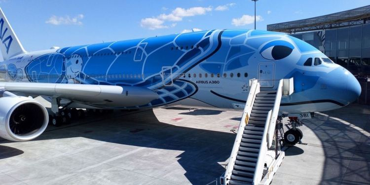 ALL NIPPON AIRWAYS RECEIVES FIRST JAPANESE A380