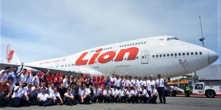 LION AIR RETIRED INDONESIA'S LAST BOEING 747-400