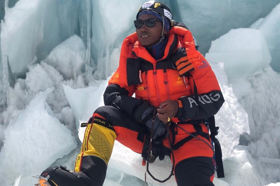 Kami Rita Sherpa scales Everest for 24 times, twice in a week