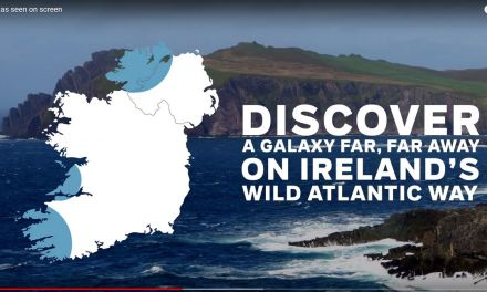 "New Tourism Ireland video highlights ""Ireland as seen on screen"""