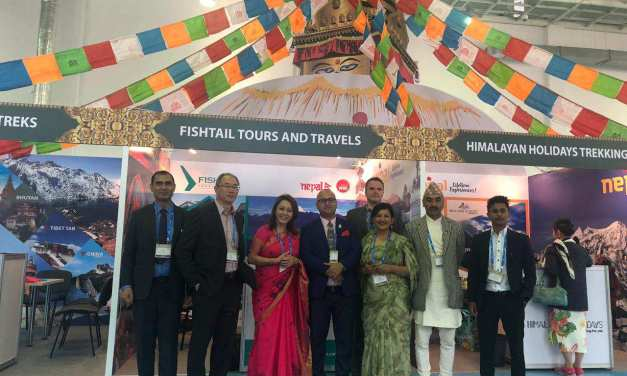 Nepal Showcased and Promoted as Lifetime Destination at PTM 2019, Astana, Kazakhstan