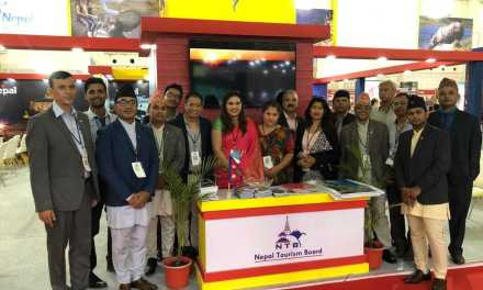 "Nepal bags ""Best Decoration Award"" in Travel & Tourism Fair ( TTF ) 2019, Ahmedabad"