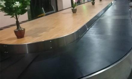 New Baggage Conveyor Belt in TIA domestic