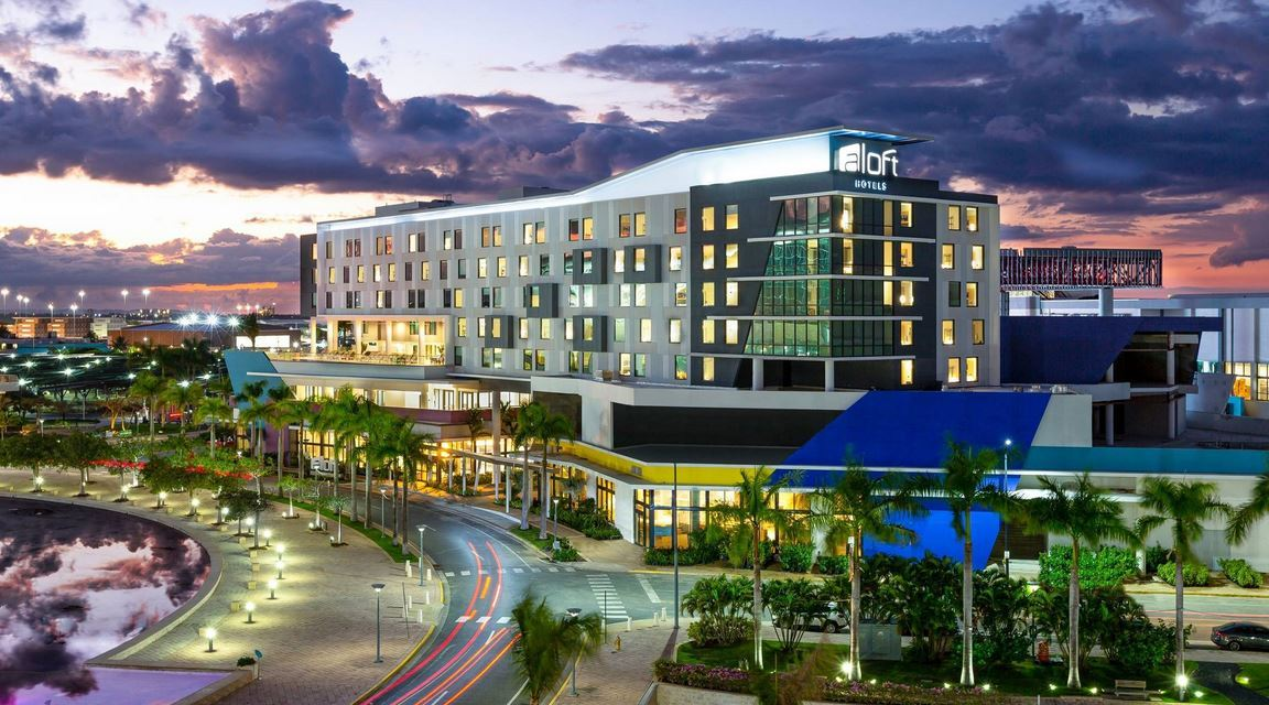 Marriott International Announces the Opening of Its First Aloft Hotel in the Caribbean