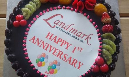 Hotel Landmark celebrates the one year anniversary