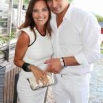 Christian Abermann und Veranstalterin Daniela Matschnig