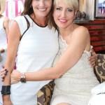 Veranstalterin Daniela Matschnig und Heather Mills