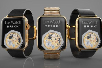 LuxWatch Brikk Apple Watch
