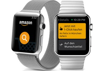 Amazon App Apple Watch