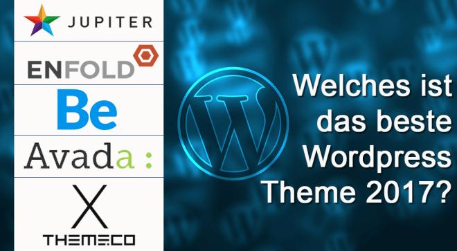 Die 5 besten Premium WordPress Themes 2017 auf Themeforest