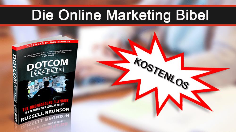 Dotcom Secrets – Kostenloses Buch von Russell Brunson!