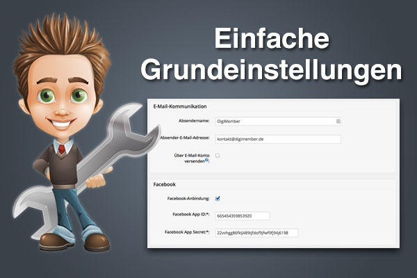 Digimember WordPress Einstellungen