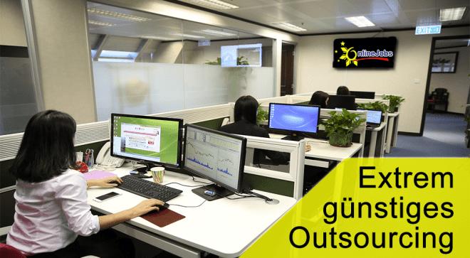 Outsourcing extrem günstig auf Onlinejobs.ph