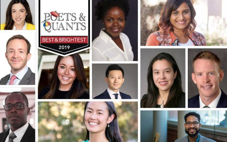Some of this year's top MBAs in the Class of 2019.