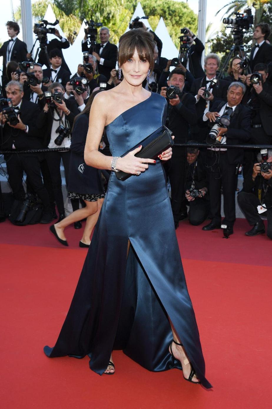 Cannes Fi;m Festival Carla Bruni