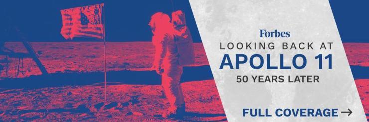 Apollo Lander Banner