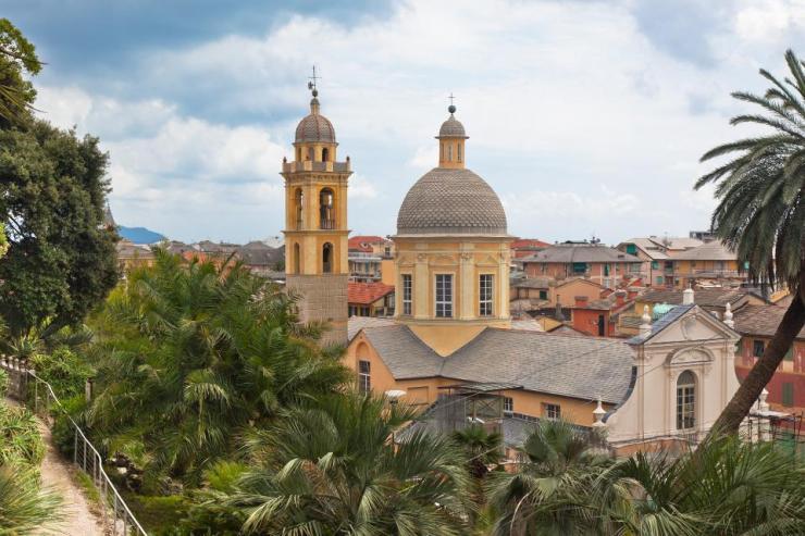 City Centre of Chiavari, Italy