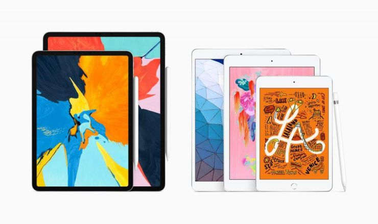 The current iPad range, the most comprehensive yet. So, what's coming next?
