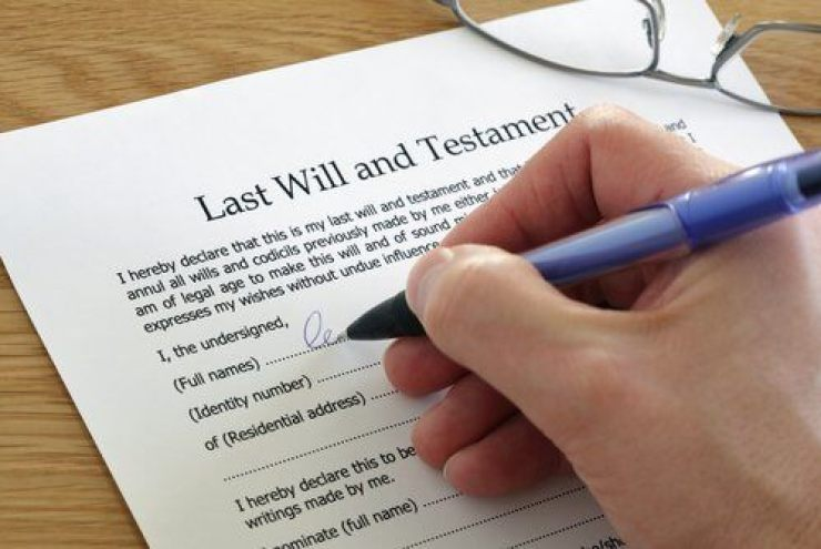 Image result for the will testament