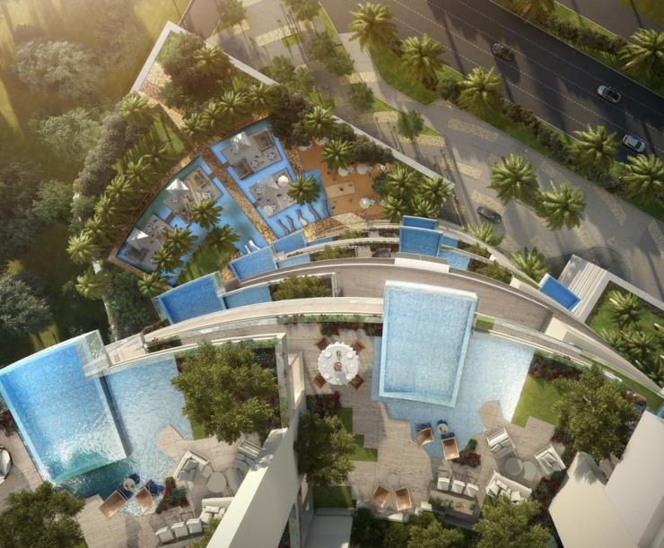 Pools at FIVE Jumeirah Village