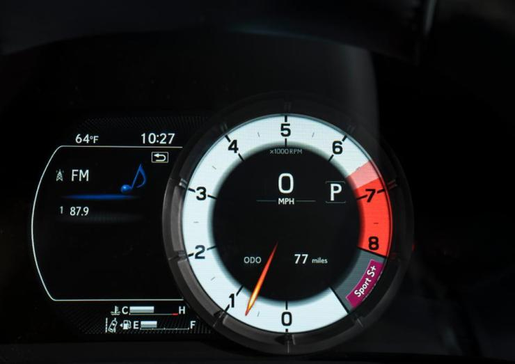 2019 Lexus ES350 F-Sport Interior