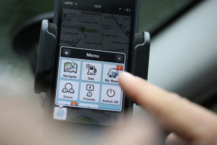 Facebook And Google Chase Waze Inc. Map Software