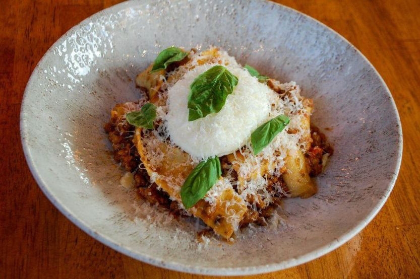 Not Your Nonna's Bolognese at Mi'talia Kitchen & Bar in south Miami.