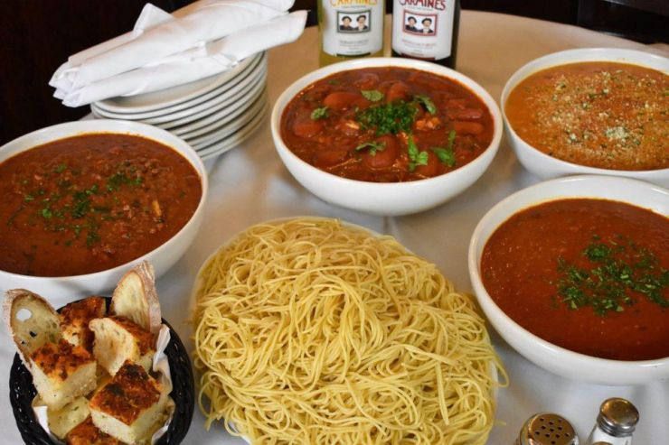 Spaghetti Special at Carmine's.