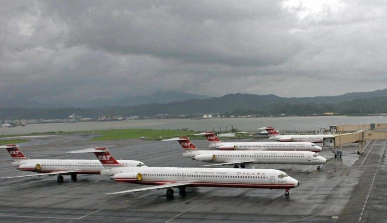 Far Eastern Air Transport jets from Taiwan