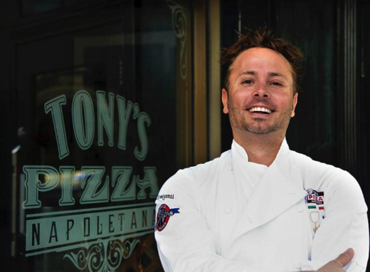 The award-winning chef behind Tony's Pizza Napoletana.