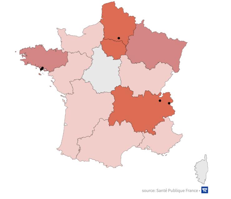 Map-Shows-Coronavirus-Spread-In-France-By-Region
