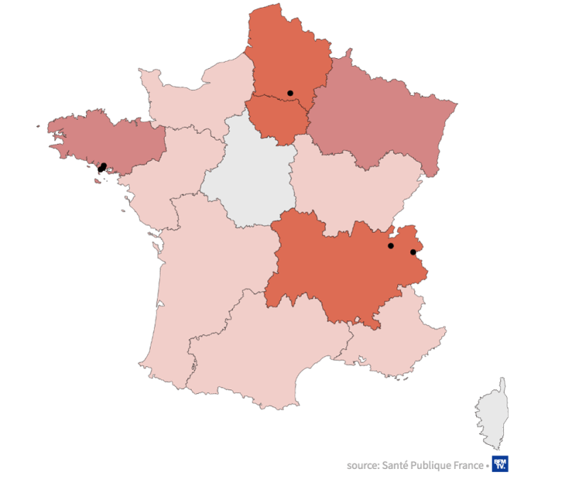 Map-Shows-Coronavirus-Spread-In-France-By-Region