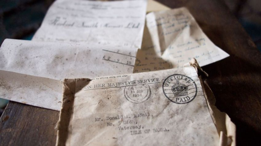 Unlike old letters, which are often rediscovered years after being forgotten, online memories are unlikely to last unless you take active steps to preserve them (Credit: Alamy)