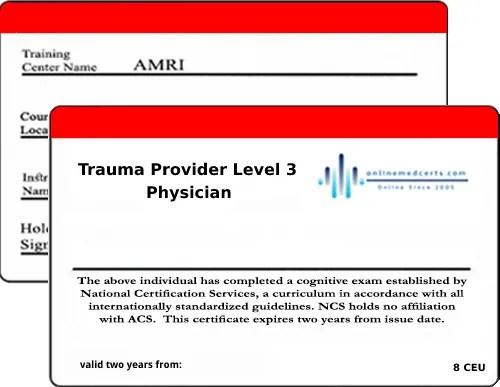 Online Medical Certification Acls Bls Pals Trauma