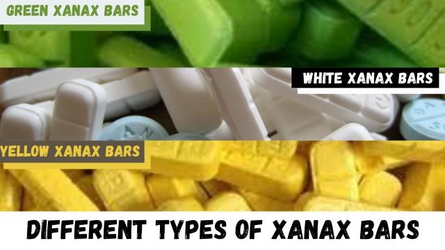 Different Types of Xanax Bars | Green | Yellow | White Xanax Bars | Online Meds Guru