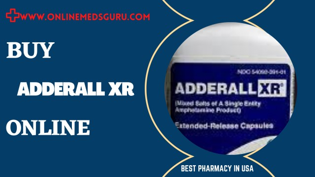 Where to Buy Generic Adderall XR Online Without Prescription? | Online Meds Guru