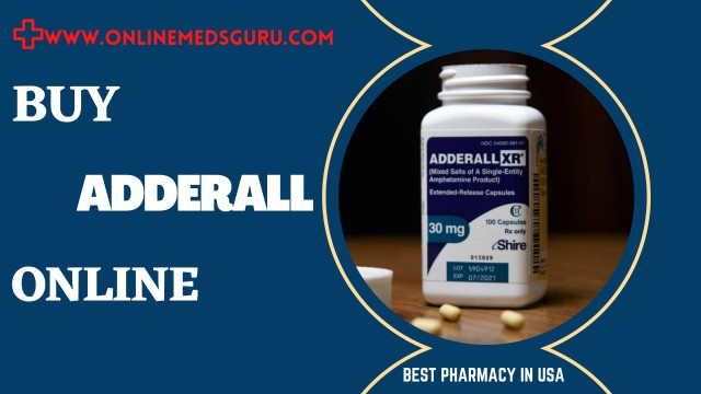 Where to Buy Generic Adderall Online with Overnight Delivery | Online Meds Guru