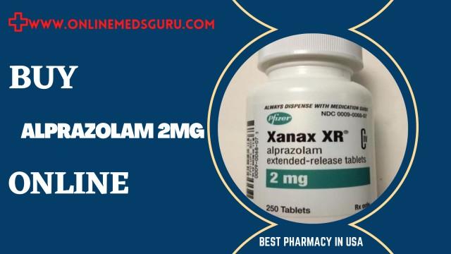 Buy Alprazolam 2mg Online with Overnight Delivery - Online Meds Guru