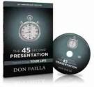 45 second presentation