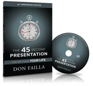 45 second presentation