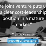 MLM Joint Ventures: A Smart Way to Grow Your Business