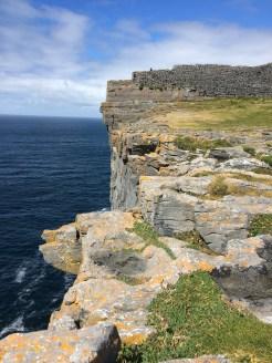 Cliffs at Dun Aengus