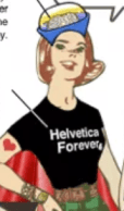 Helvetica Forever t-shirt