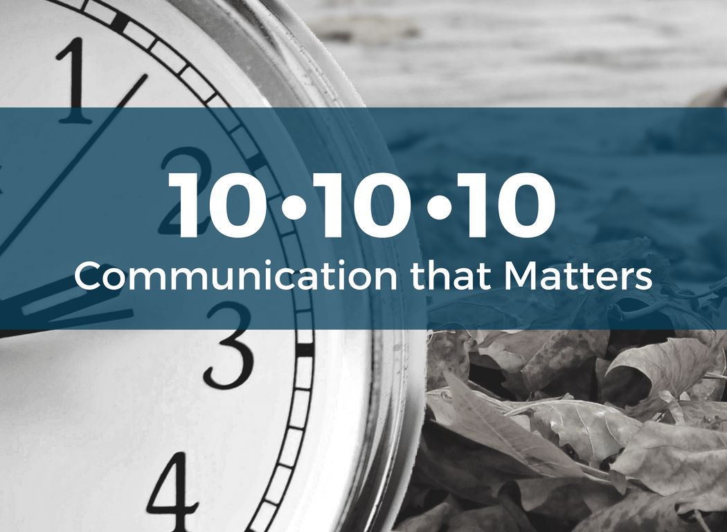 Course Image: 10-10-10 Communication that matters