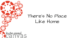 No Place Like Home Byte-sized Canvas featured image