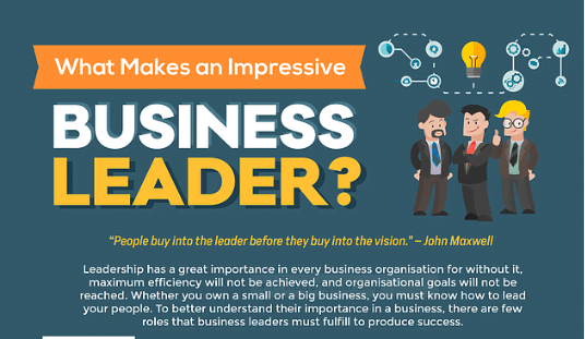 What Makes an Impressive Business Leader?