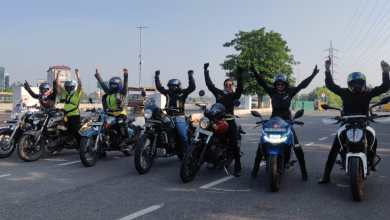 Indian Women Riders Conducted COVID-19 Vaccination Rally in Gurugram and Jaipur