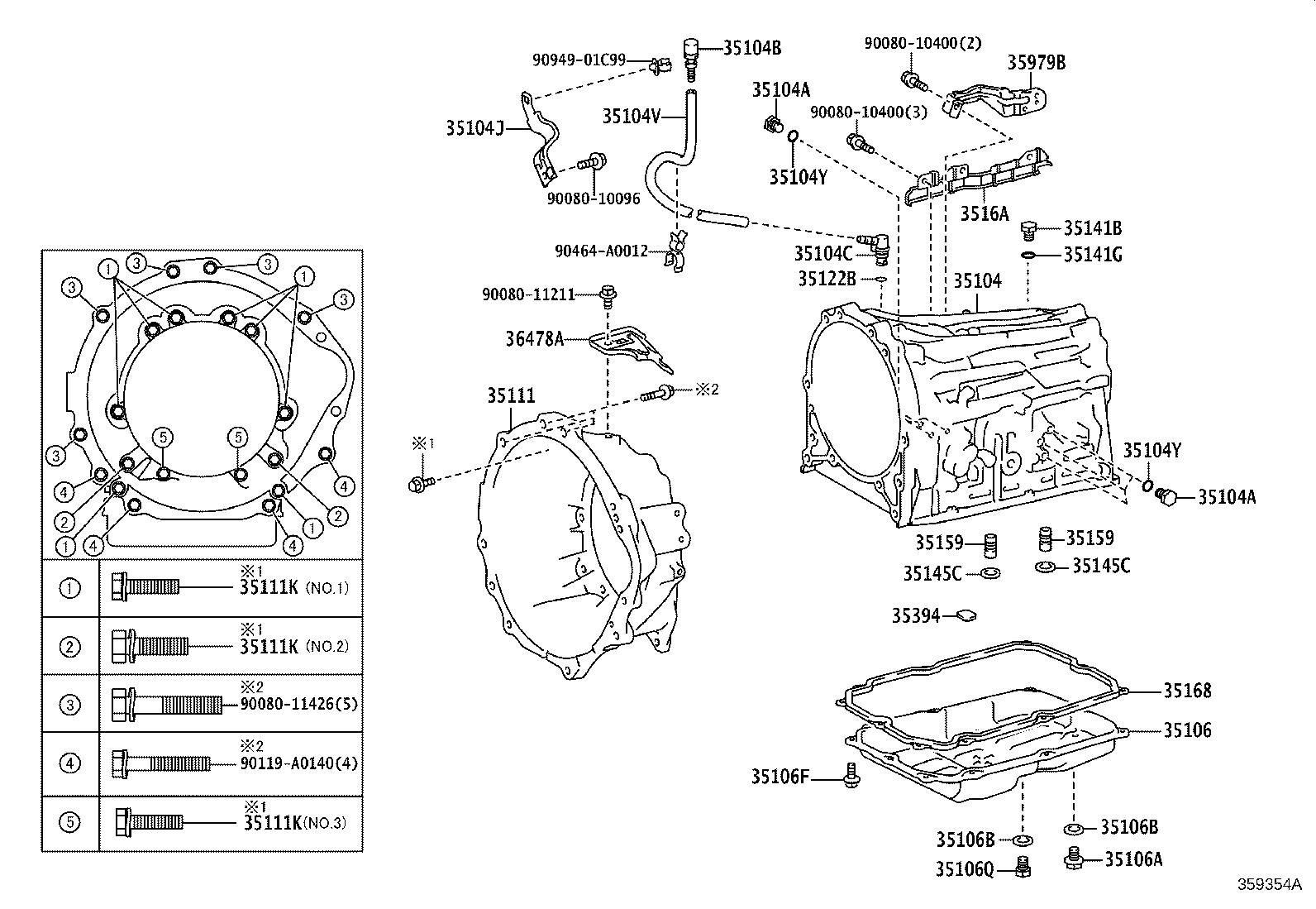 Toyota Tacoma Skirt Transmission Breather Atm Driveline